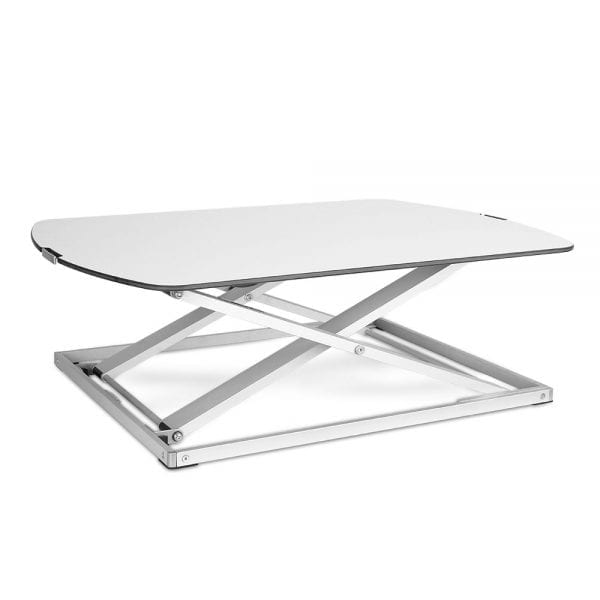 Height Adjustable Standing Desk - White