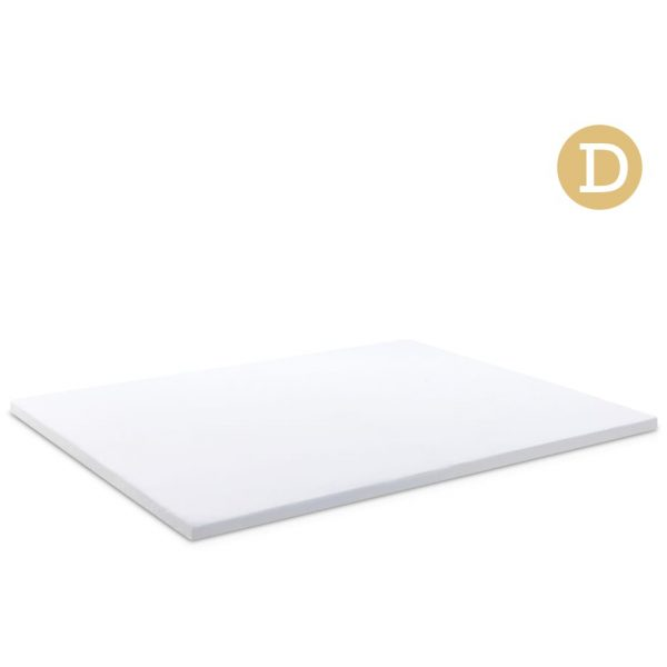 Double Size Dual Layer Cool Gel Memory Foam Topper