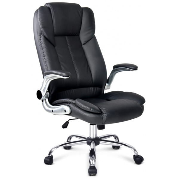 PU Leather Executive Office Chair - Black