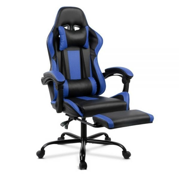 Racer Executive Chair - Black and Blue