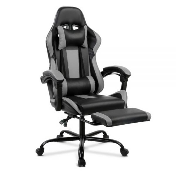 Racer Executive Chair - Black and Grey