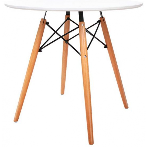 Marcus Round Dining Table White