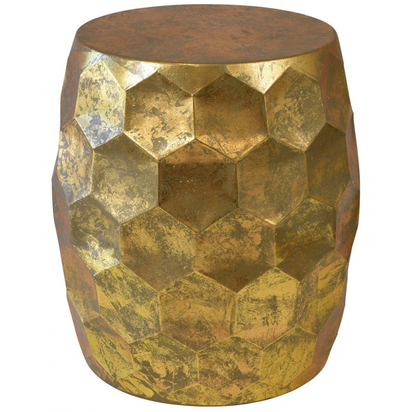 Honeycomb Table Gold Theo and Joe