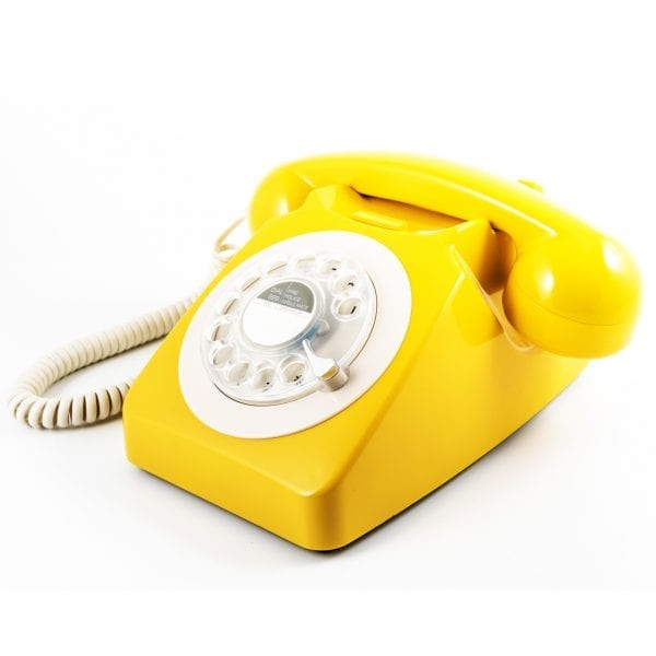 GPO 746 Telephone Yellow