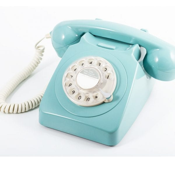 GPO 746 Telephone Blue