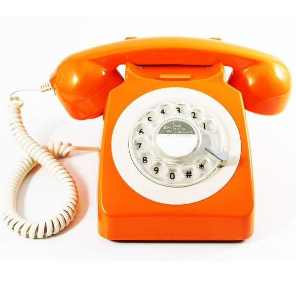 GPO 746 Telephone Orange