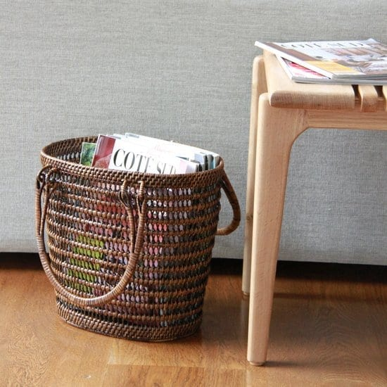 Satara Teacher Basket with Handles