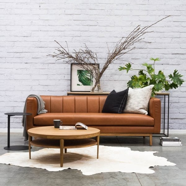 Satara Tresna Leather Sofa