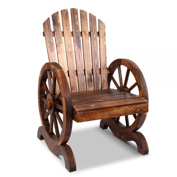 Wooden Wagon Chair Outdoor