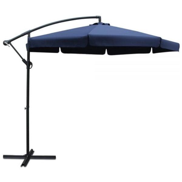 Instahut 3M Outdoor Umbrella - Navy