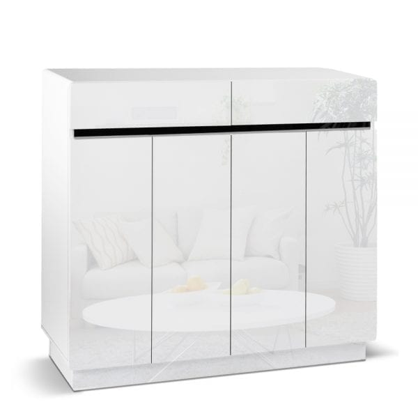Laurant Shoe Cabinet White