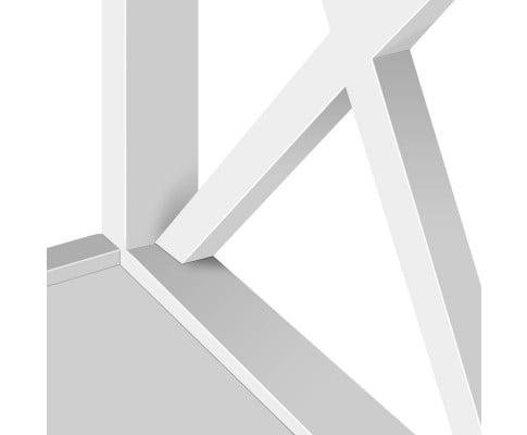 Julia Hamptons Bedside Table White