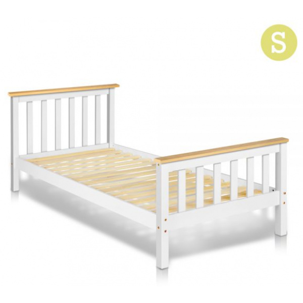 Artiss Single Size Pine Wood Bed Frame