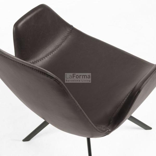 York Chair Brown | Set of 2