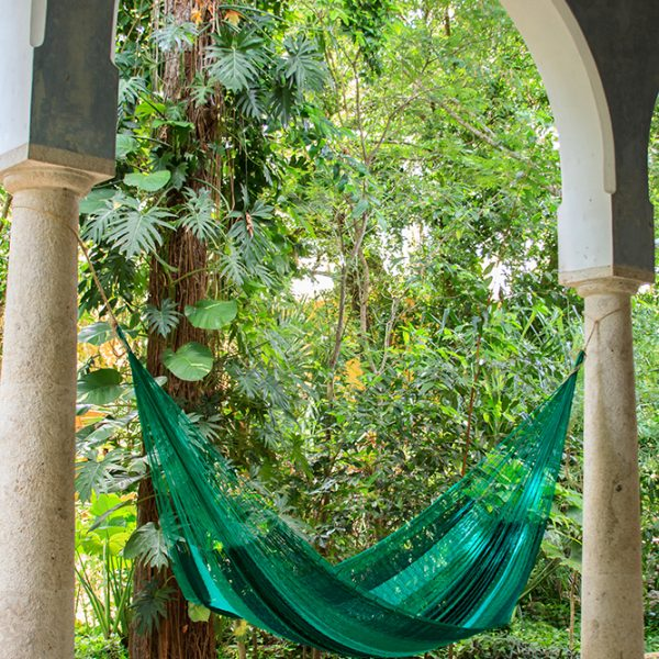 King Nylon Plus Hammock in Fresch Garden