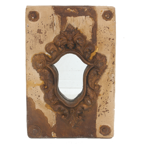 Gothic Mounted Wall Mirror Boxed in 2's