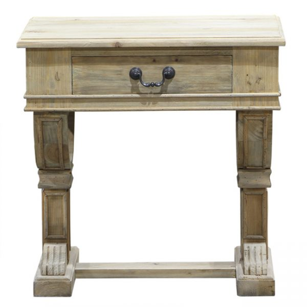 Curtis Bedside Table Natural Contemporary Pieces