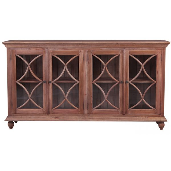 Country Cottage 4 door buffet Natural