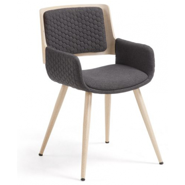 Andrea Dining Chair Dark Grey Set 4