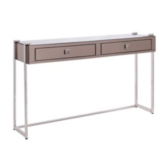 New York Mirrored Console
