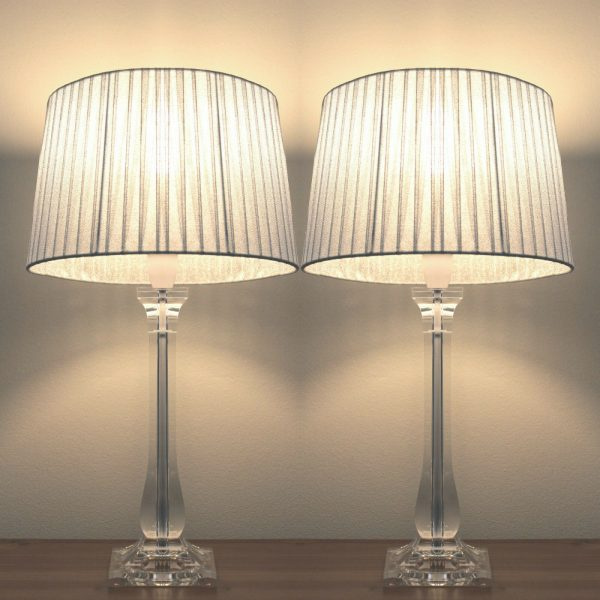Sylvia Bedside Lamps Set of 2