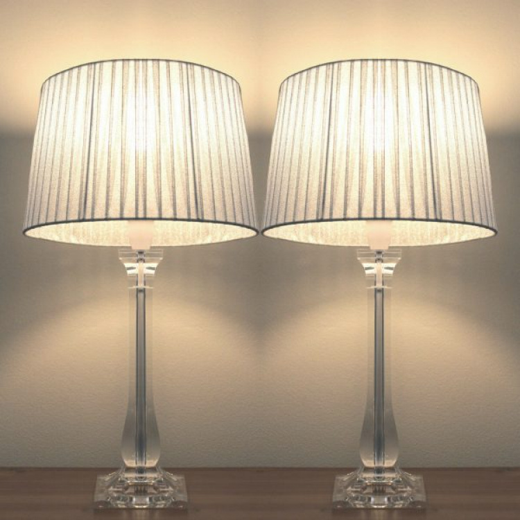 online store 8b7a4 0aa9b Sylvia Bedside Lamps Set of 2