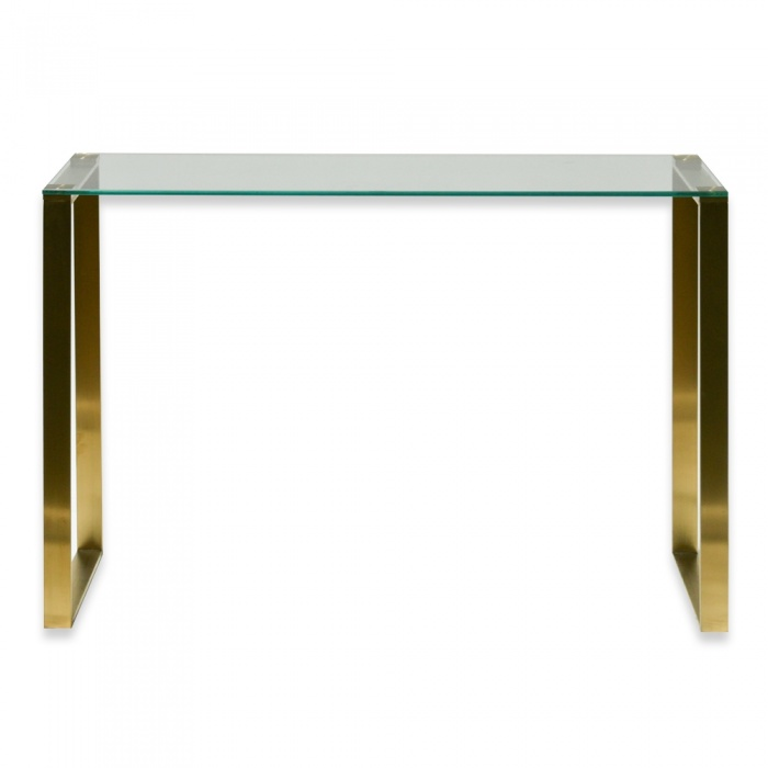 Kate Glass Hall Console Table