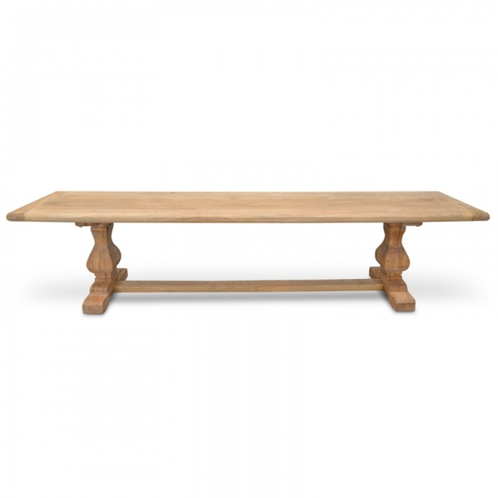 Oliver French Provincial Elm Wood Bench Seat