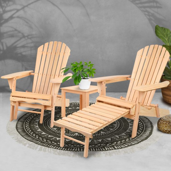 3 Piece Outdoor Chair and Table Set