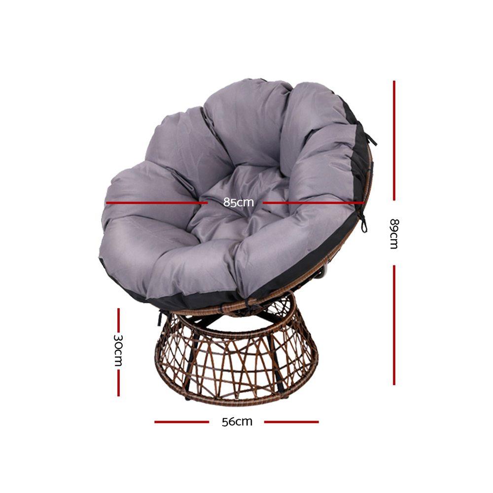 Papasan Chair - Brown