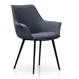 Catherine Dining Chair Dark Grey 2 Set