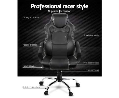 Combet Office Chair Black