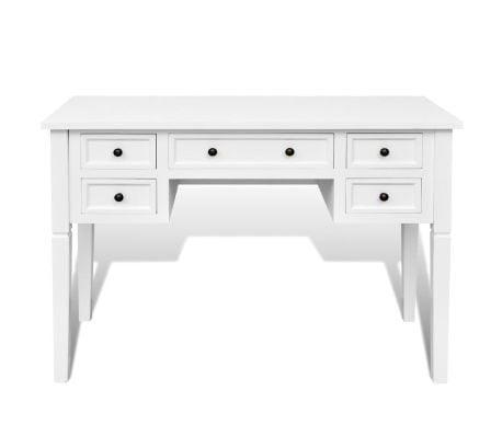 Brigitte French Provincial Office Desk White