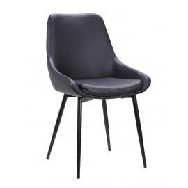 Catherine Dining Chair Black 2 Set