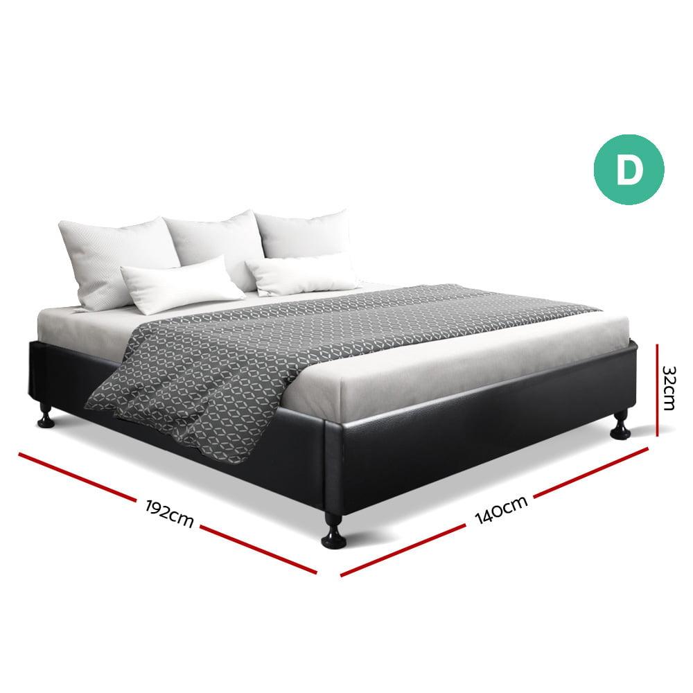 Jessie Double Bed Black