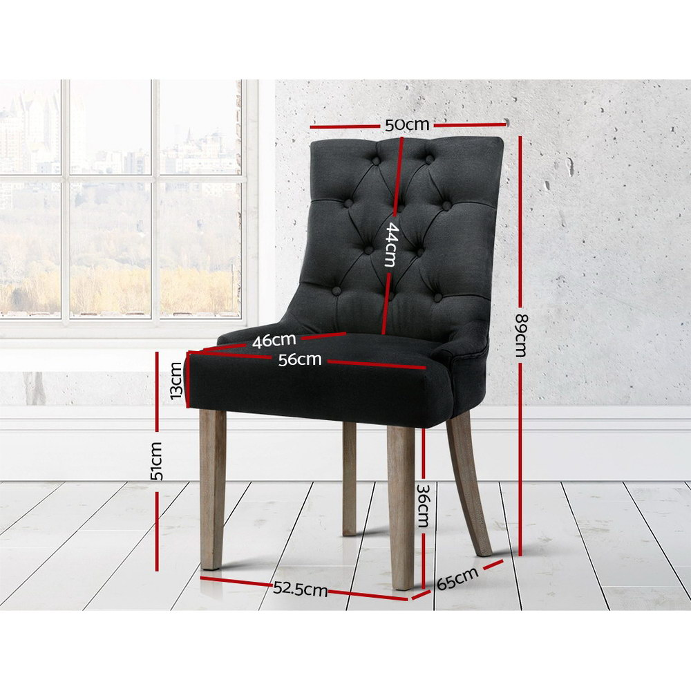 Phoebe Dining Chair Black