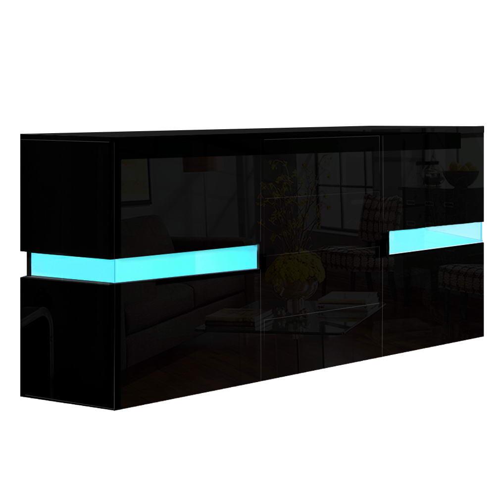 Kate Buffet Sideboard High Gloss Black