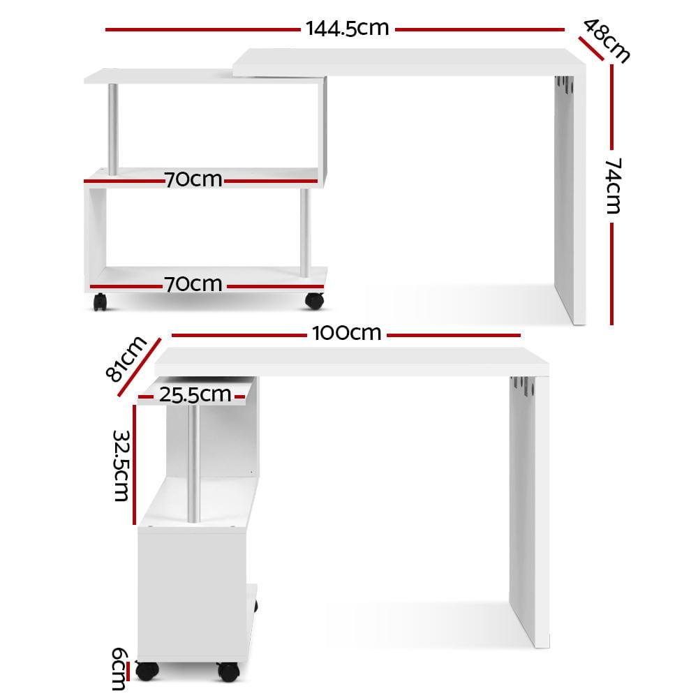 Marcus Office Computer Desk White