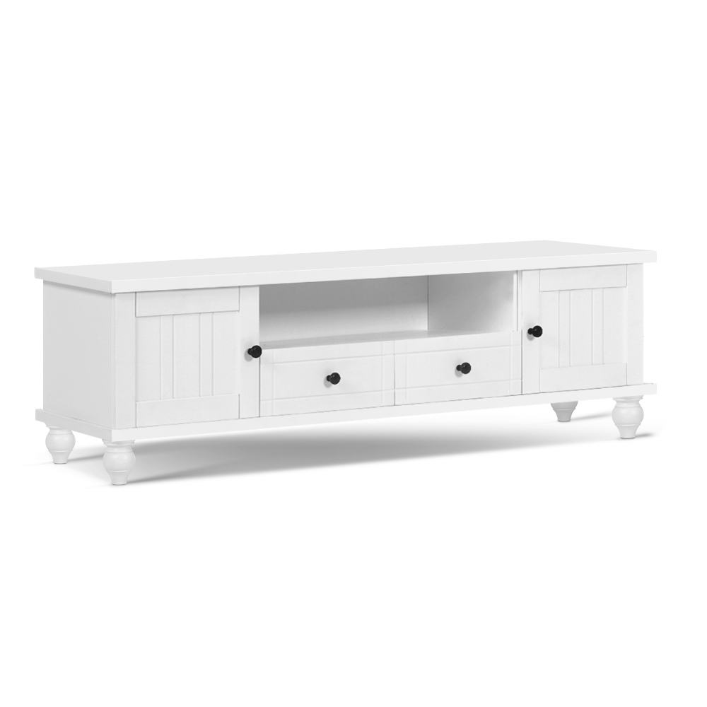 Nadia Entertainment Unit White