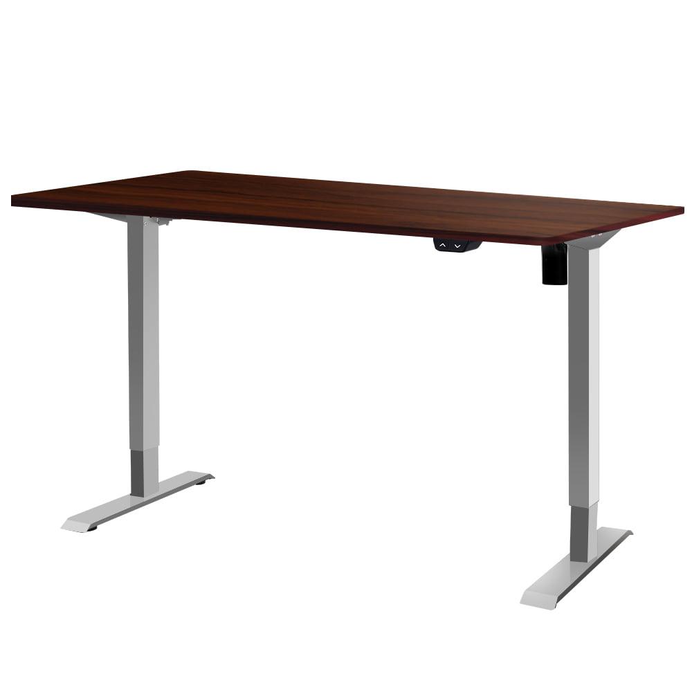 Nathan Sit Stand Height Desk 100cm Walnut
