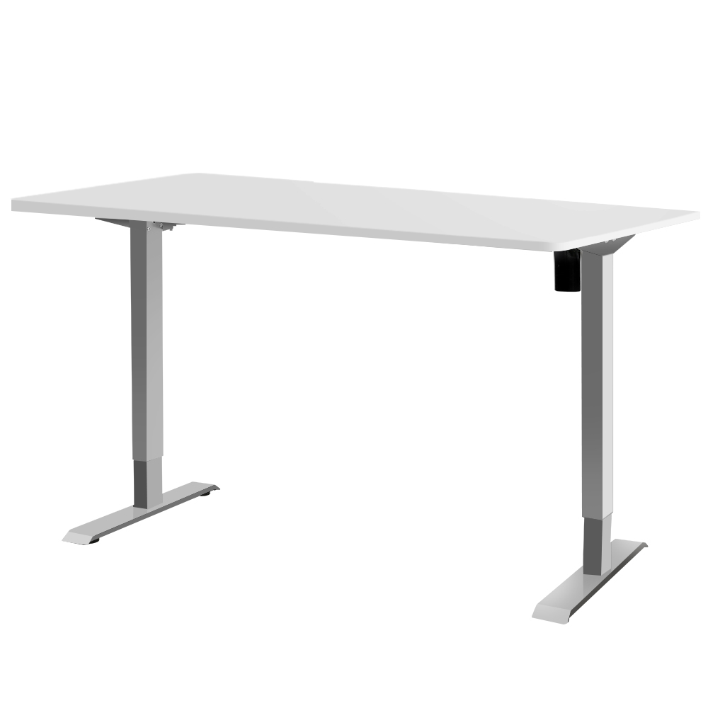 Polly Sit Stand Computer Desk Office 100cm