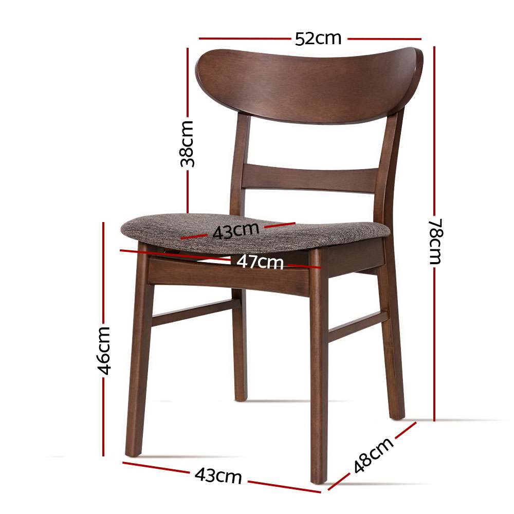 Fabian Dining Chairs Wood 2