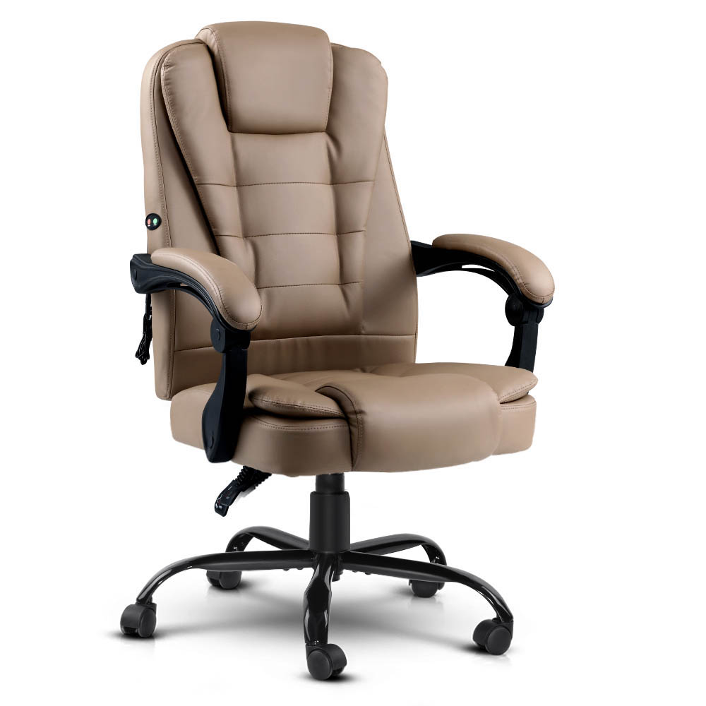 Massage Office Chair Recliner Espresso