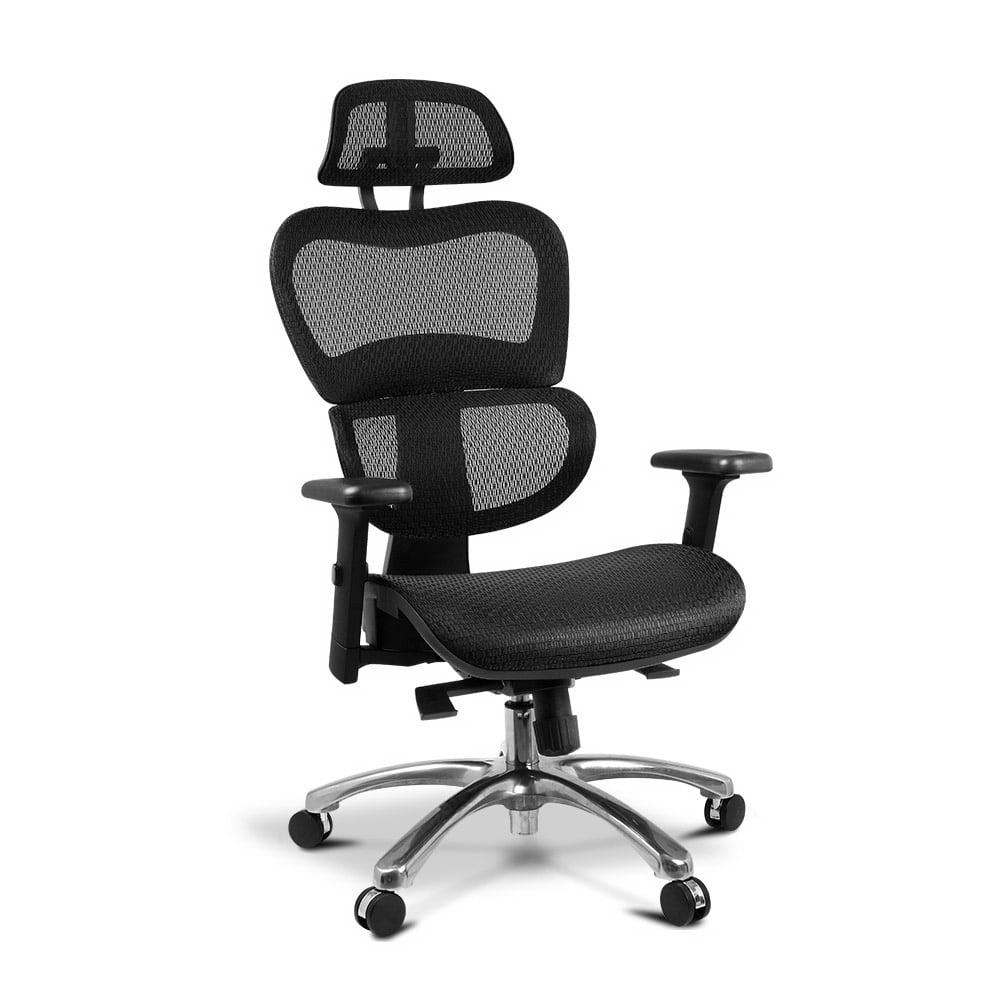 Swan Deluxe Office Mesh Chair Black