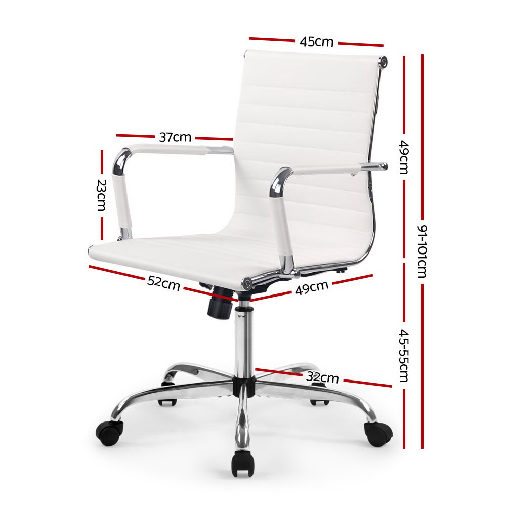 Laurant Office Chair White