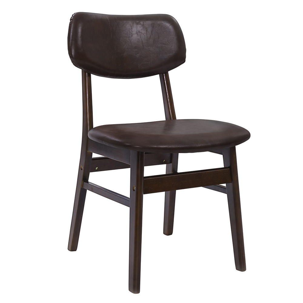 Stephanie Dining Chairs Replica Wood Chair Brown 2