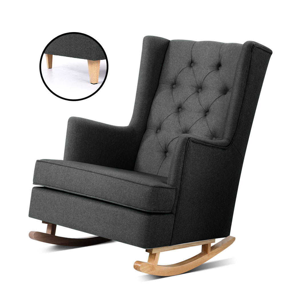 Shelby Convertible Rocking Arm Chair