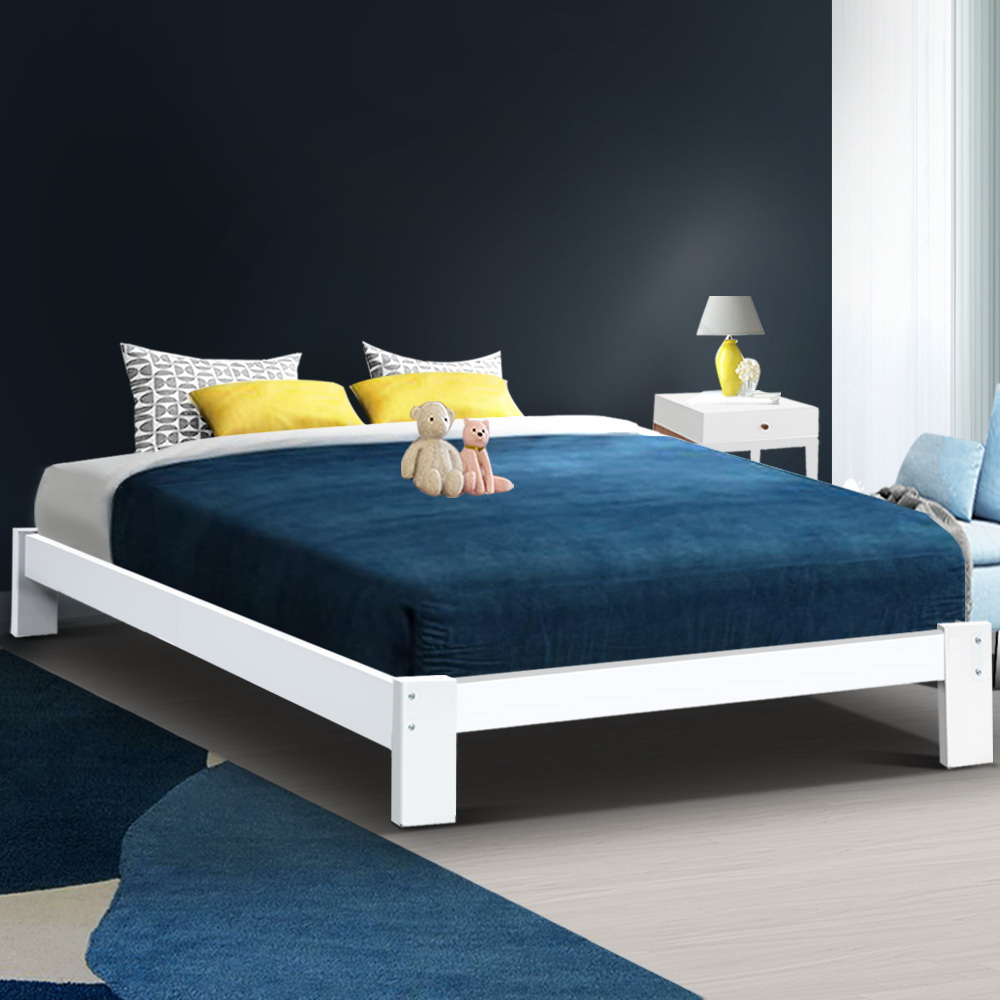 Andy Queen Bed Timber
