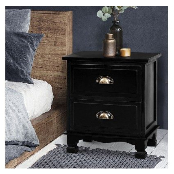 Arianna French Provincial Bedside Tables Set 2