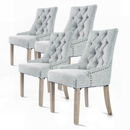 Chloe French Provincial Dining Chair Set 4